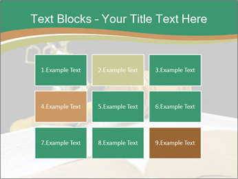 Gavel, law book PowerPoint Template - Slide 68