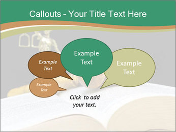 Gavel, law book PowerPoint Templates - Slide 73