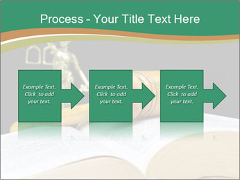 Gavel, law book PowerPoint Template - Slide 88