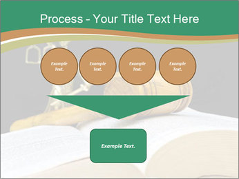 Gavel, law book PowerPoint Template - Slide 93