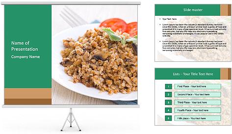 Porridge PowerPoint Template