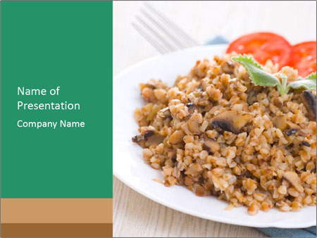 Porridge PowerPoint Templates