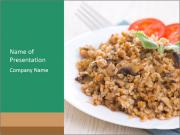 Porridge PowerPoint Template
