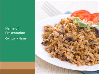 Porridge PowerPoint Templates - Slide 1