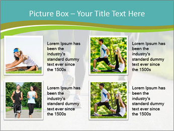Health and fitness PowerPoint Template - Slide 14