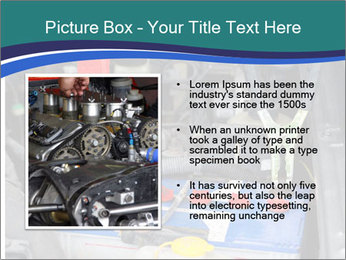 Dead battery clamped PowerPoint Template - Slide 13