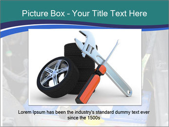 Dead battery clamped PowerPoint Template - Slide 15