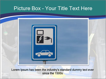 Dead battery clamped PowerPoint Template - Slide 16
