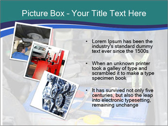 Dead battery clamped PowerPoint Template - Slide 17
