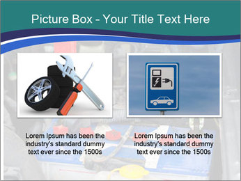 Dead battery clamped PowerPoint Template - Slide 18