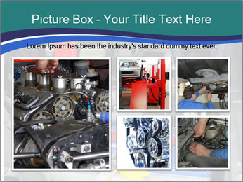 Dead battery clamped PowerPoint Template - Slide 19
