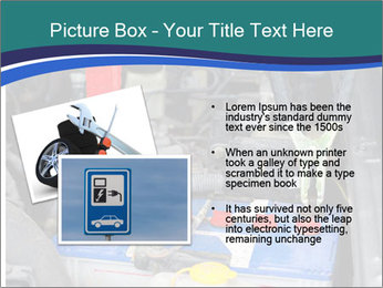 Dead battery clamped PowerPoint Template - Slide 20