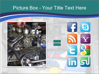Dead battery clamped PowerPoint Template - Slide 21