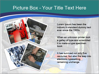 Dead battery clamped PowerPoint Template - Slide 23