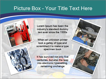 Dead battery clamped PowerPoint Template - Slide 24