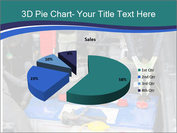 Dead battery clamped PowerPoint Template - Slide 35