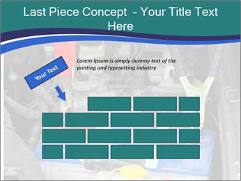 Dead battery clamped PowerPoint Template - Slide 46