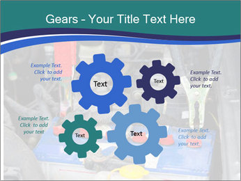 Dead battery clamped PowerPoint Template - Slide 47