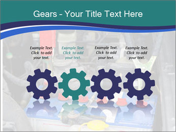Dead battery clamped PowerPoint Template - Slide 48