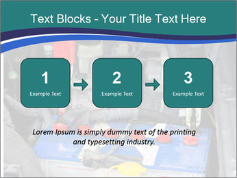 Dead battery clamped PowerPoint Template - Slide 71