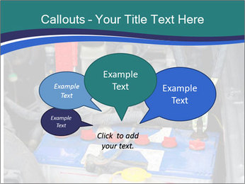 Dead battery clamped PowerPoint Template - Slide 73