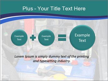 Dead battery clamped PowerPoint Template - Slide 75