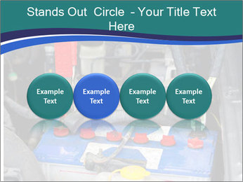 Dead battery clamped PowerPoint Template - Slide 76