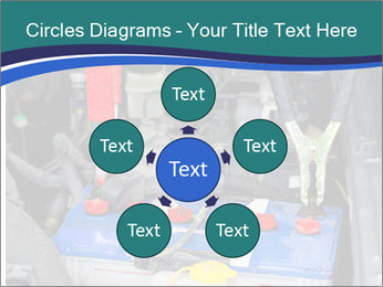 Dead battery clamped PowerPoint Template - Slide 78