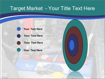 Dead battery clamped PowerPoint Template - Slide 84
