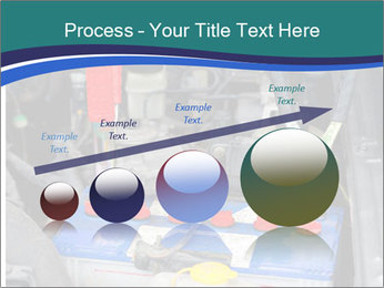Dead battery clamped PowerPoint Template - Slide 87