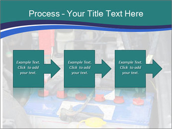 Dead battery clamped PowerPoint Template - Slide 88