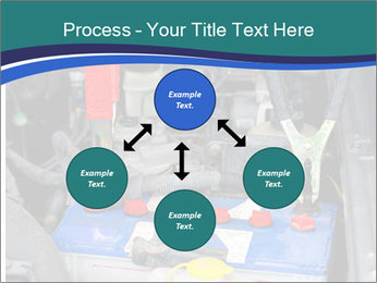 Dead battery clamped PowerPoint Template - Slide 91