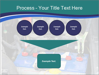 Dead battery clamped PowerPoint Template - Slide 93