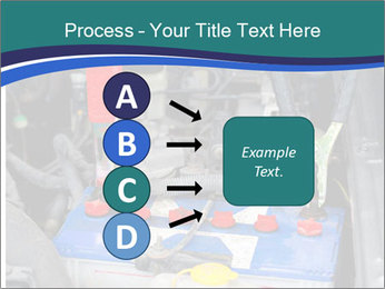 Dead battery clamped PowerPoint Template - Slide 94