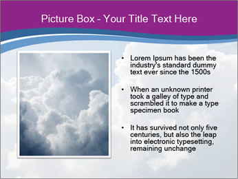 Dramatic sky PowerPoint Template - Slide 13