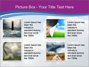 Dramatic sky PowerPoint Template - Slide 14