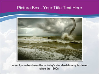 Dramatic sky PowerPoint Template - Slide 15