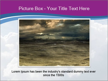 Dramatic sky PowerPoint Template - Slide 16