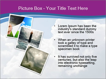 Dramatic sky PowerPoint Template - Slide 17