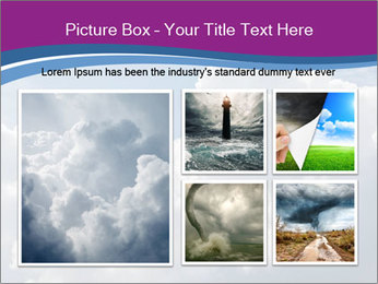 Dramatic sky PowerPoint Template - Slide 19
