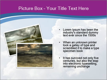 Dramatic sky PowerPoint Template - Slide 20