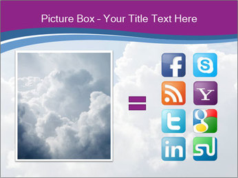 Dramatic sky PowerPoint Template - Slide 21