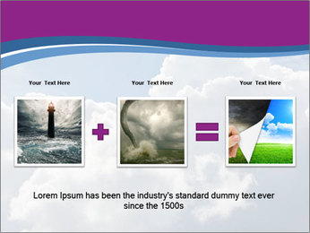 Dramatic sky PowerPoint Template - Slide 22