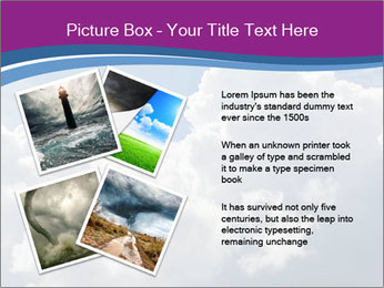 Dramatic sky PowerPoint Template - Slide 23