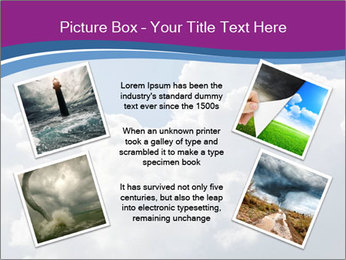 Dramatic sky PowerPoint Template - Slide 24