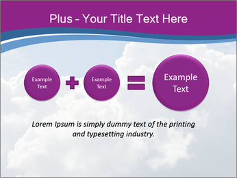 Dramatic sky PowerPoint Template - Slide 75