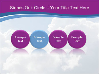 Dramatic sky PowerPoint Template - Slide 76