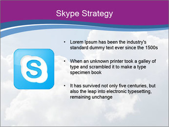 Dramatic sky PowerPoint Template - Slide 8