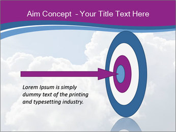 Dramatic sky PowerPoint Template - Slide 83