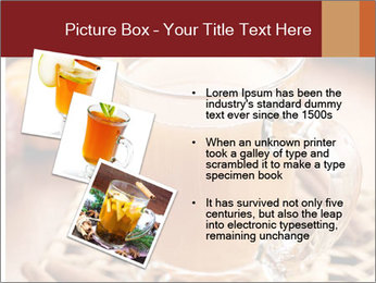 Glass of apple cider PowerPoint Template - Slide 17
